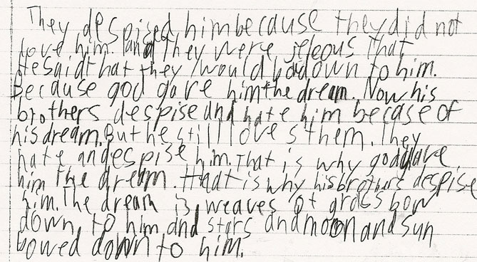 Kids handwriting before and after handwriting without tears 174